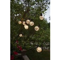 """LED Party-Kette """"Big Circus"""", ca. 4,5 m, 10 warmweisse LEDs"""
